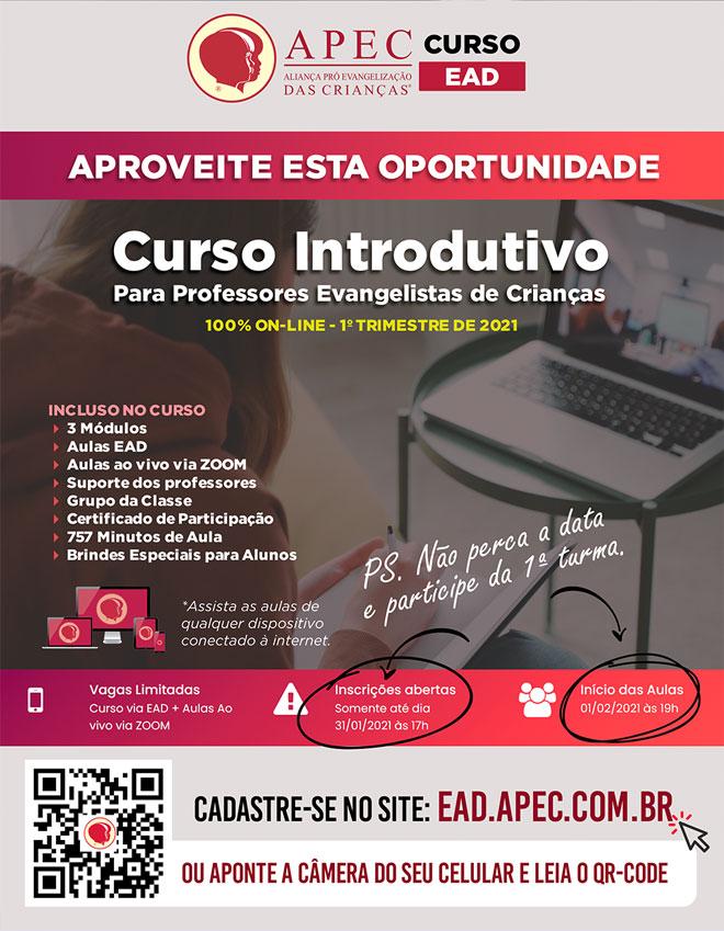 Faça o Curso EAD da APEC Brasil